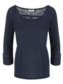 Bluză bleumarin cu mâneci trei sferturi Only Jess