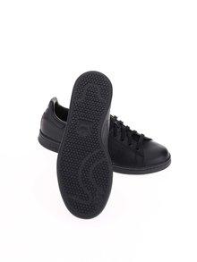 Čierne pánske kožené tenisky adidas Originals Stan Smith
