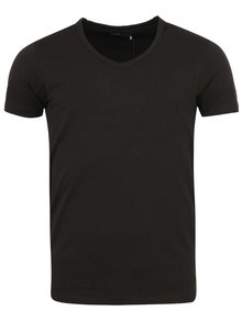 Tricou negru basic Jack & Jones