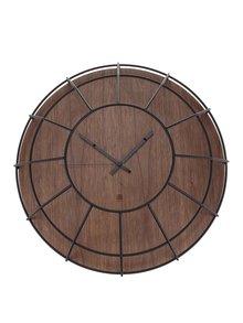 Drevené nástenné hodiny Umbra Cage