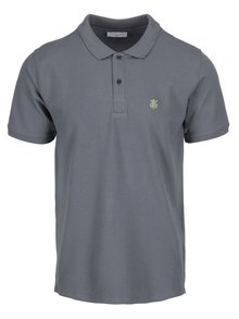 Tricou polo gri Selected Homme Haro