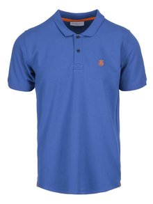 Tricou polo albastru Selected Homme Haro