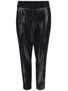 Čierne flitrové nohavice Closet