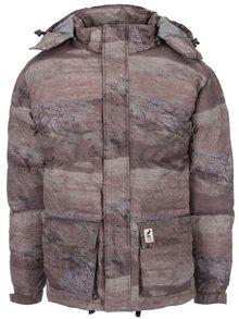 Jachetă de iarnă cu imprimeu maro Fat Moose Urban Heat