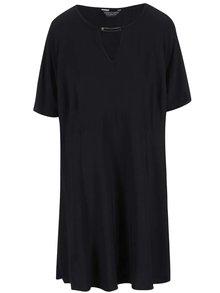 Čierne šaty so zvonovou sukňou Dorothy Perkins Curve