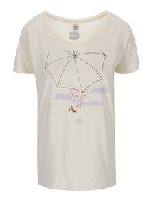 """""""Dobré"""" krémové dámské tričko pro Paraple"""