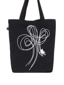 """""""Dobrá"""" černá plátěná taška pro Paraple"""