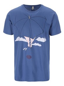 """""""Dobré"""" modré pánské tričko pro Paraple"""