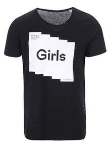 """""""Dobré"""" čierne unisex tričko pre Mezipatra Girls"""