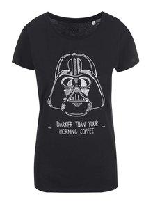 Černé dámské tričko s potiskem ZOOT Originál Darker Coffee