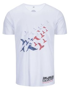 """Dobré"" bílé pánské triko pro OPU a UNHCR"