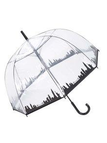 Priehľadný dáždnik s panorámou New Yorku Lindy Lou Skyline
