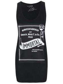 Černé dámské minišaty Smack Immortal by Anna Mimieux