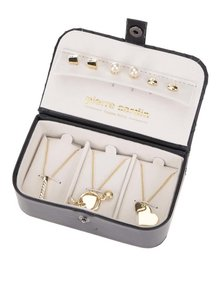 Sada šperků ve zlaté barvě v elegantní kazetě Pierre Cardin