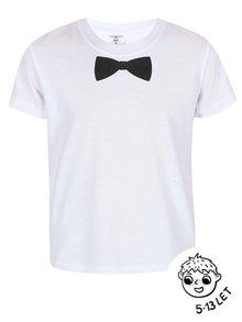 Bílé klučičí triko ZOOT Kids Motýlek