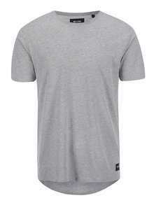 Tricou gri deschis ONLY & SONS Curved