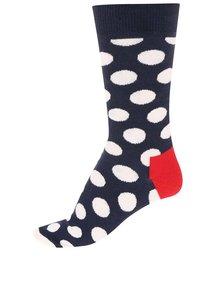 Șosete unisex bleumarin cu buline de la Happy Socks