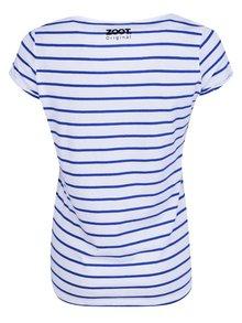 Modro-bílé dámské pruhované tričko ZOOT Originál Hello Sailor