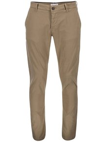 Pantaloni chino bej ONLY & SONS Sharp