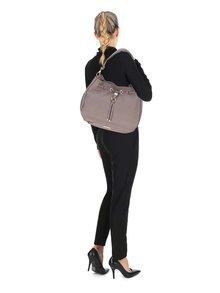 Sivá sťahovacia kabelka Dune London Dollianna