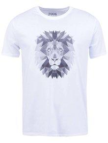 Bílé pánské tričko ZOOT Originál Lev