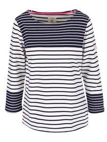 Modro-bílé dámské pruhované tričko s dlouhým rukávem Tom Joule Harbour