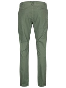 Zelené chino nohavice ONLY & SONS Sharp