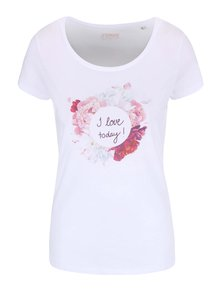 Tricou alb pentru femei ZOOT Original I Love Today