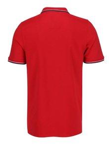 Červené polo tričko Selected Homme Season
