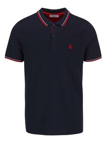 Tricou polo albastru închis Selected Homme Season