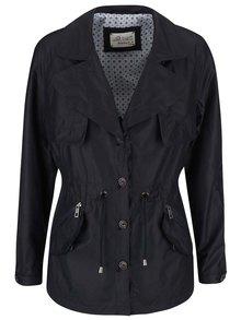 Čierny dámsky kratší kabát bugatti