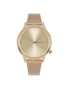 Dámske hodinky v zlatej farbe s kovovým remienkom Komono Estelle Royale
