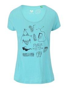 Modrozelené dámské tričko Ragwear Sugar Organic