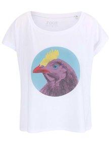 Bílé dámské volnější tričko ZOOT Originál Sexi chick