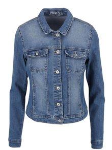 Jachetă albastră ONLY New din denim