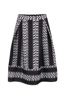 Černá vzorovaná sukně Alchymi Persei