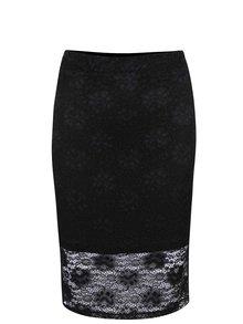Černá krajková sukně Alchymi Alpha