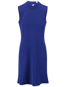 Modré šaty se stojáčkem Closet