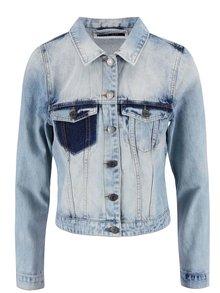 Světle modrá džínová bunda VERO MODA Patty