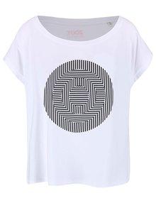 Bílé dámské volnější tričko ZOOT Originál Ilúzia