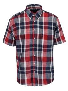 Červeno-modrá kostkovaná košile Seven Seas Village