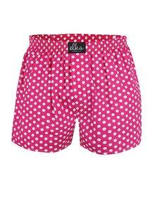 Ružové pánske bodkované trenírky El.Ka Underwear