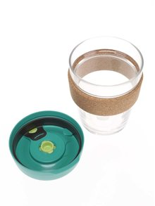 Cană medie de călătorie KeepCup Brew Thyme Cork Medium