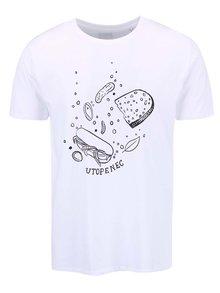 Biele pánske tričko ZOOT Originál Utopenec