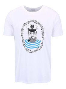Bílé pánské tričko ZOOT Originál Sailor