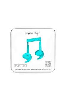 Căști sport bleu Happy Plugs