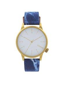 Unisex hodinky v zlatej farbe Komono Winston Heritage
