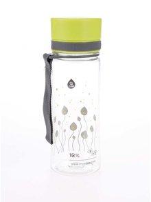 Plastová lahev s motivem zelených lístků EQUA (400 ml)