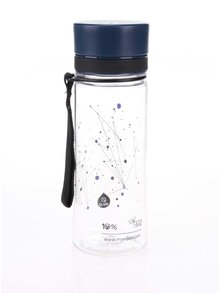 Sticlă din plastic cu imprimeu galaxie EQUA (400 ml)