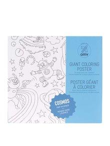 Poster de colorat Cosmos OMY